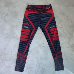 Colorful stretch workout legging